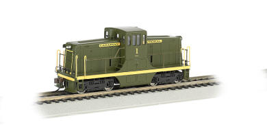 Canadian National #1 - GE 44-Ton - DCC
