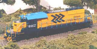 Custom Detailed - Athearn SD40-2 ONR #1730
